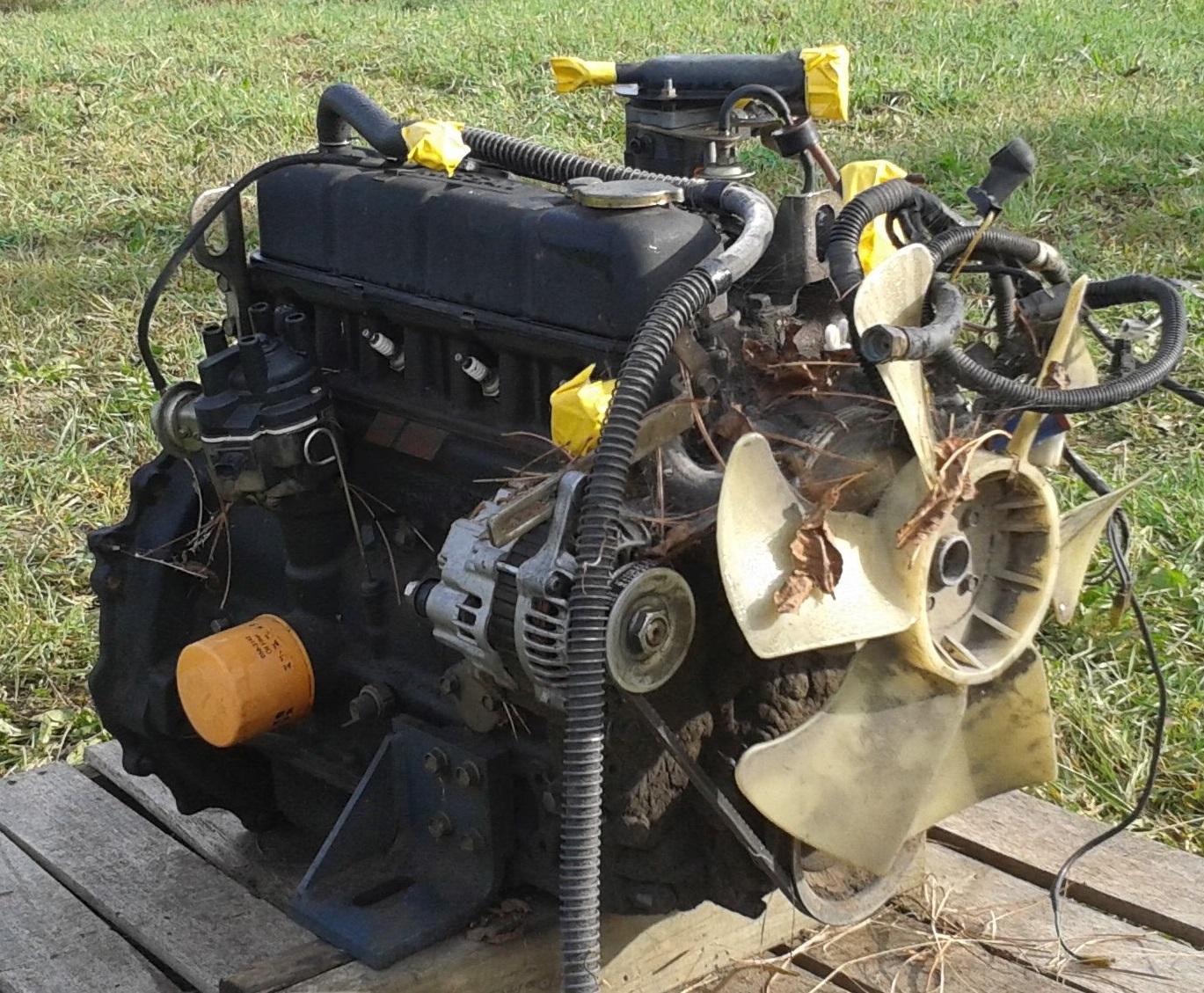 Zaktualizowano Silnik NISSAN H20 części zamienne z wózka widłowego KB03