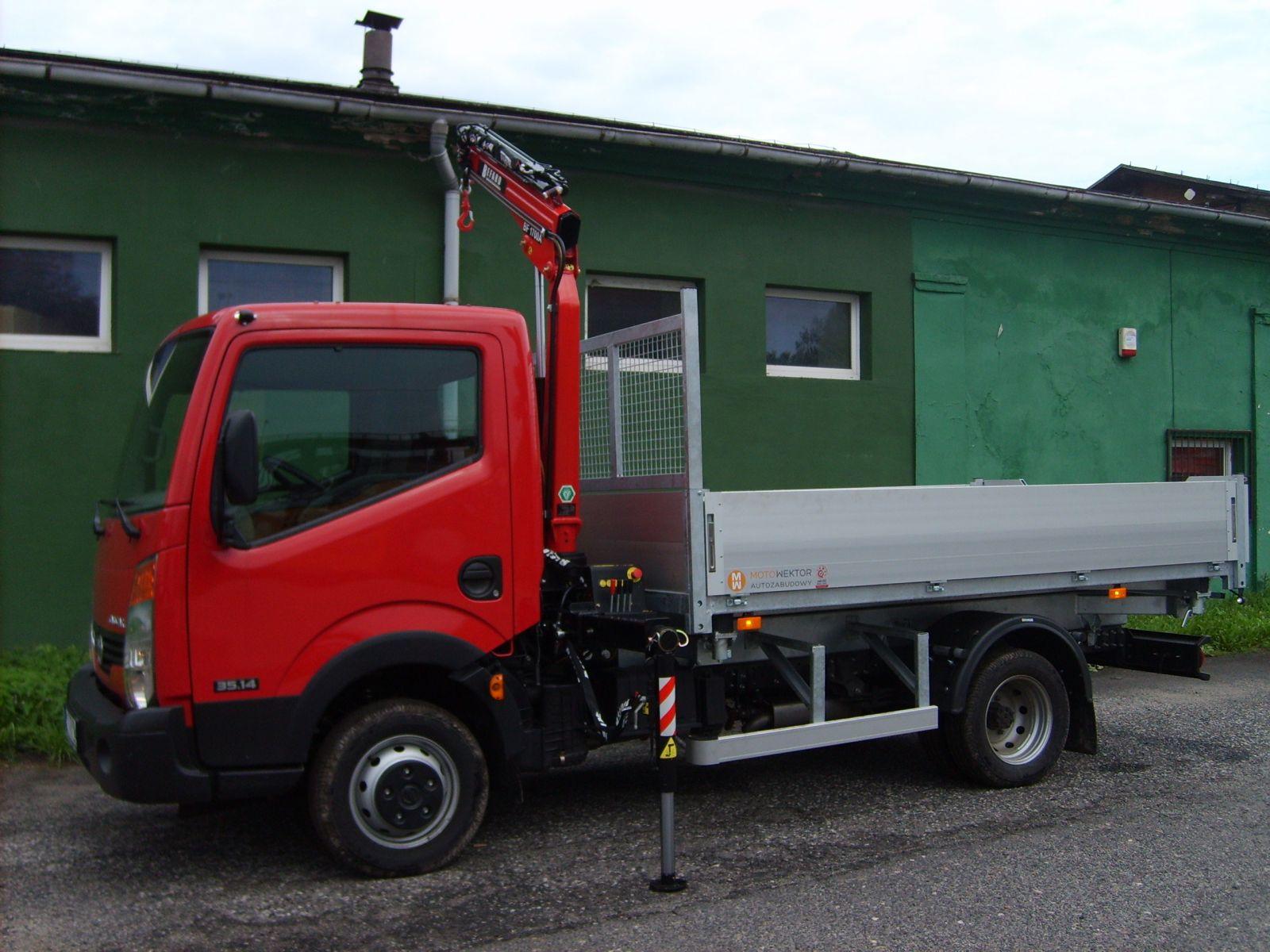 Super Żuraw HDS BEFARD na samochód dostawczy dla firm budowlanych RD86